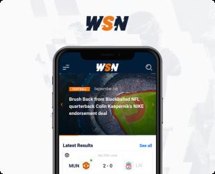 WSN mobile website